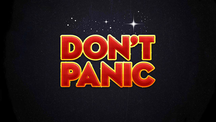 Wizard Estreito - Don't Panic: the language of The Hitchhiker's Guide to the Galaxy
